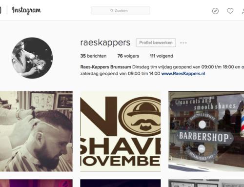 Volg Raeskapper ook op Instagram